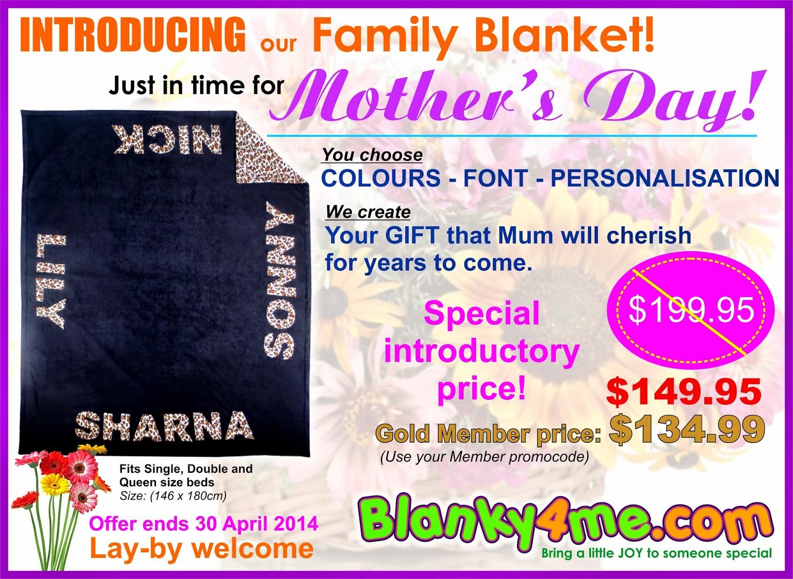 New Family Blanket