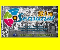 Radio 92.1 FM Sensunat Sonsonate en El Salvador