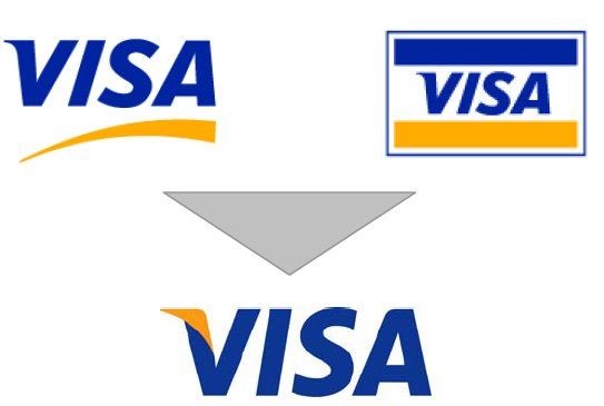 History Of All Logos Visa Logo
