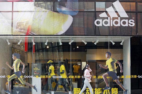 adidas bate récord de ventas en China en 2015