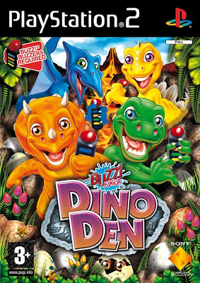 Buzz! Junior: Dino Mania (PS2) 2008