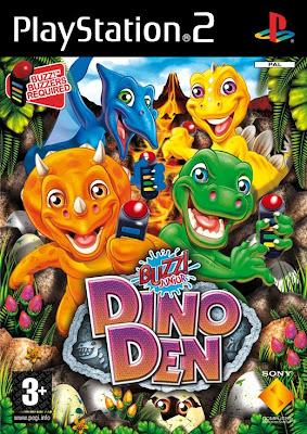 Buzz! Junior: Dino Mania (PS2) 2008