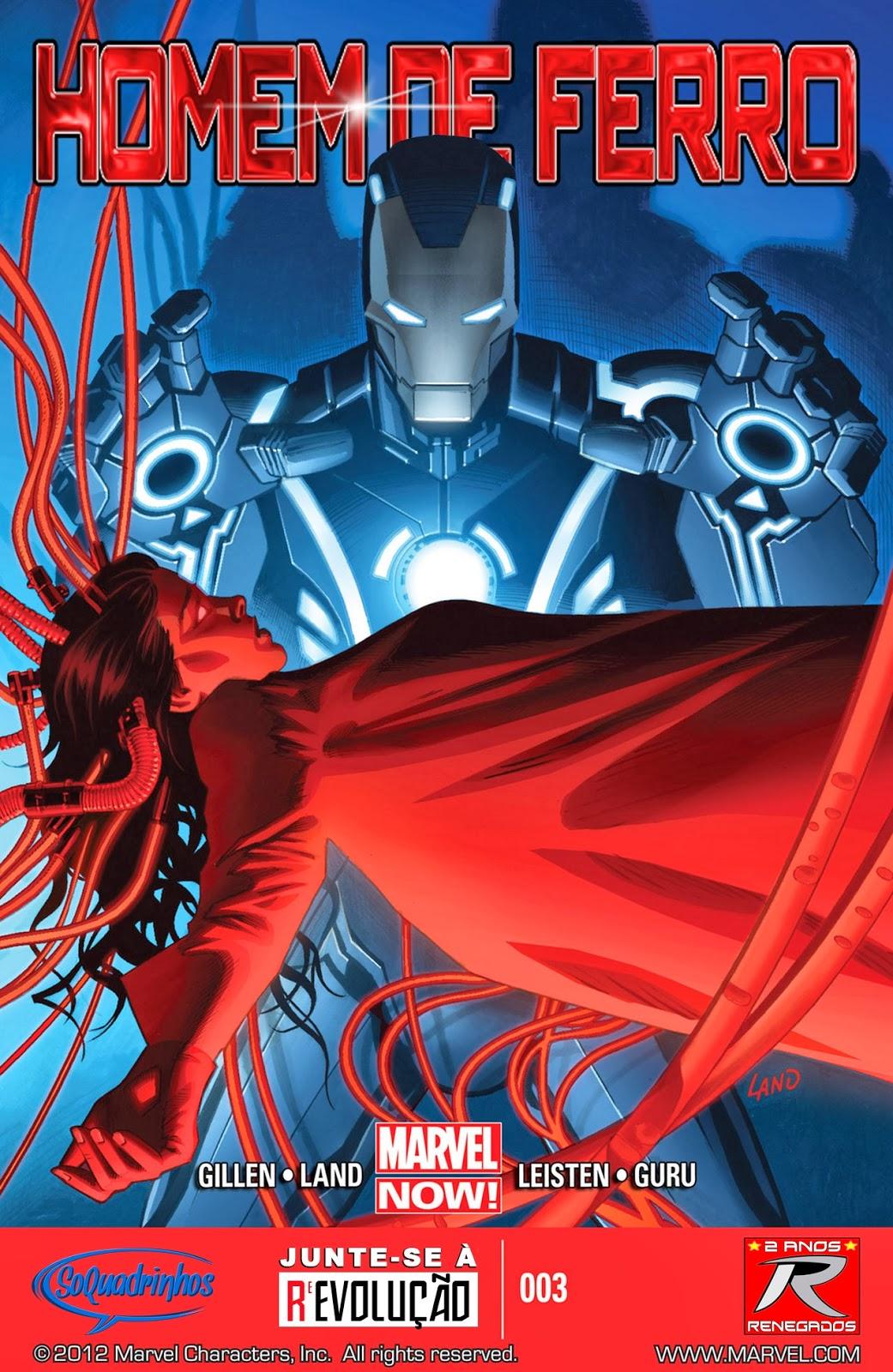 Nova Marvel! Homem de Ferro v6 #3