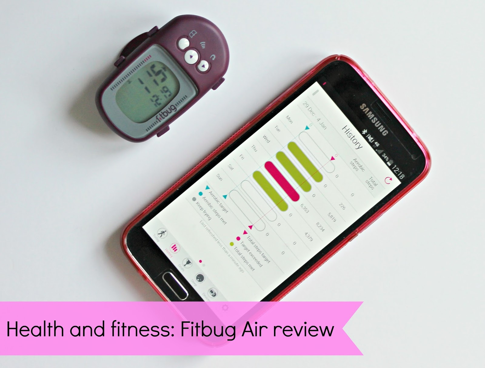 Fitbug air review