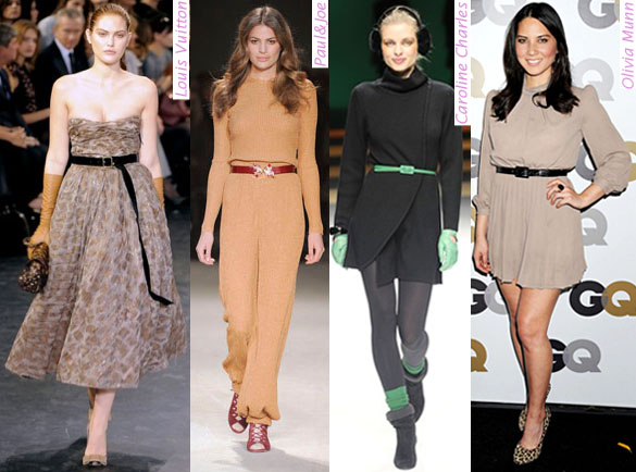How to wear the Skinny Belts to fake a hot body