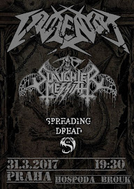 31. 3. 2017 - VIOLENTOR/SLAUGHTER MESSIAH/SPREADING DREAD