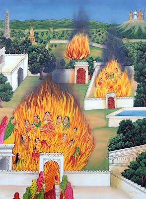 हिंदू रानियों का जौहर