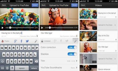 grabar videos, editarlos y compartirlos en redes sociales