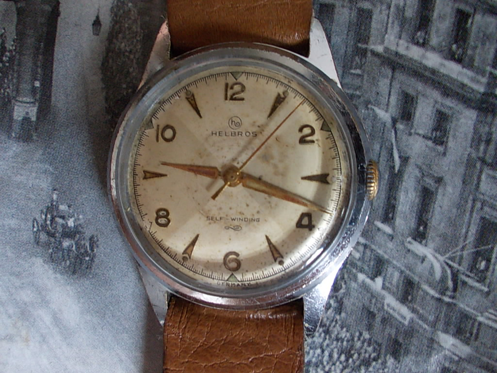 vintage helbros watches sound activity