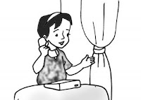 Jenis ucapan salam di telepon adalah ....