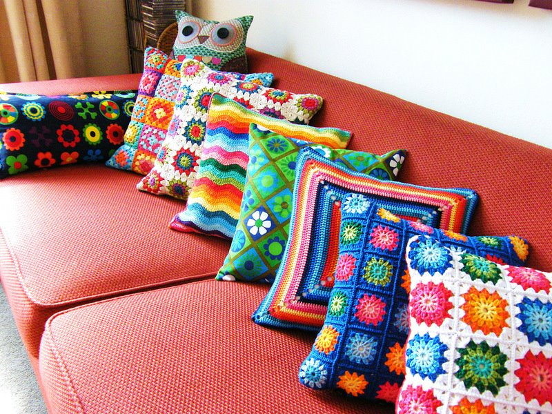 Ideas en crochet para decorar tu casa