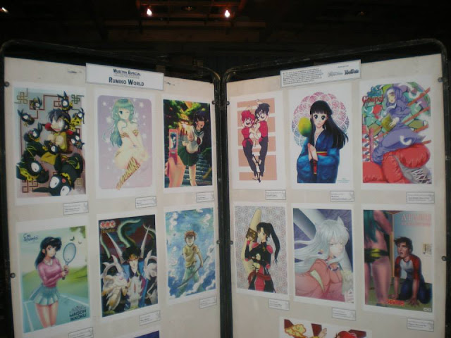 Muestra de dibujos Rumiko world por keiten studio