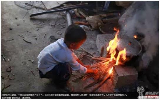 Kisah Yang Menyedihkan Budak 6 Tahun Hidup Keseorangan