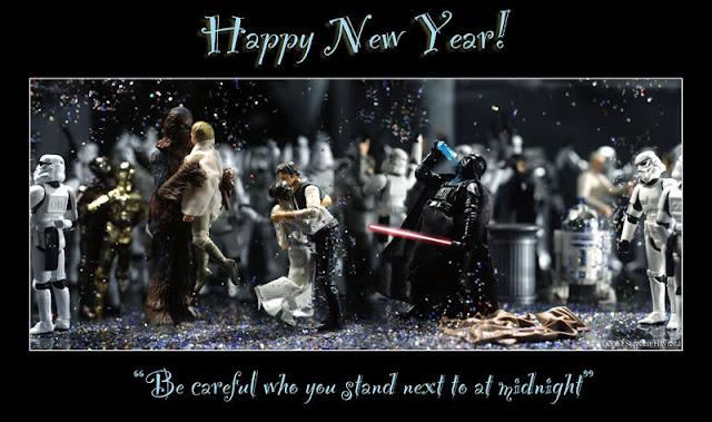 happy new year, 2013, star wars