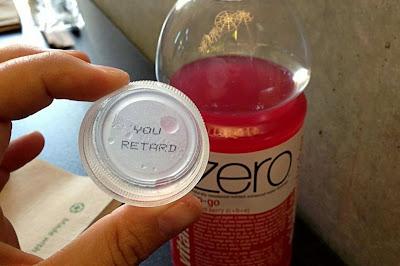 Coca-Cola Vitaminwater Retard Bottle Cap