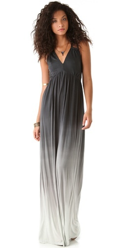 Ombré maxi dress for summers