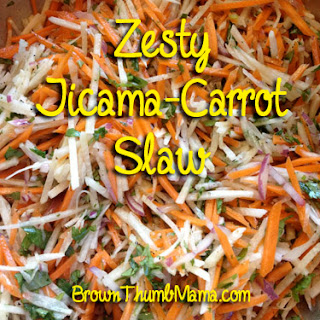 Recipe: Zesty jicama-carrot slaw