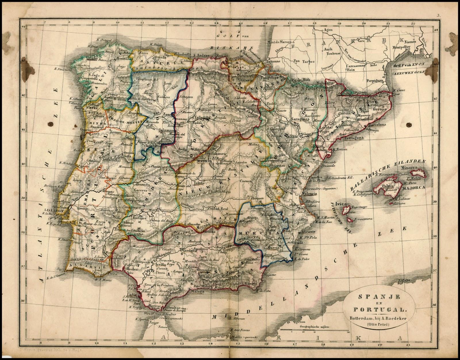 España y Portugal 1848 Adolf Baedeker