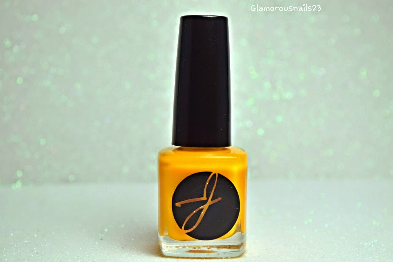 Jior Couture #089 Yellow Nail Polish