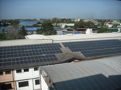 Industrial Solar Power Projects Installations in Sri Lanka.