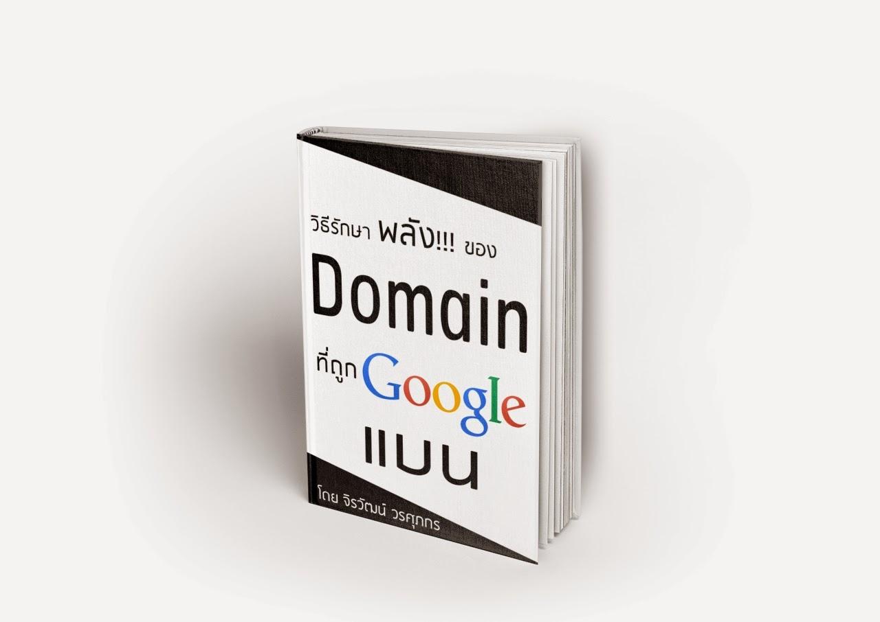 หนังสือ SEO วิธีรักษาพลังของ Domain ที่ถูก Google แบน