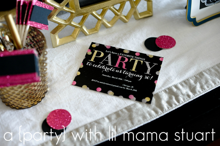 A Day With Lil Mama Stuart 30th Birthday Favorite Things Party