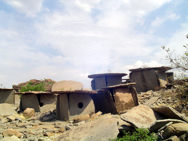 Benakal Pre-historic Tombs in India