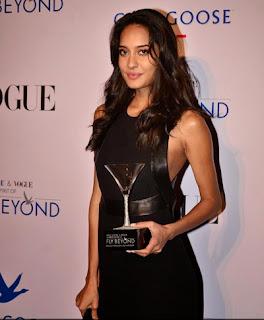 Lisa Haydon at Grey Goose India's Fly Beyond Awards
