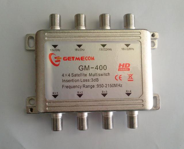 Getmecom Multiswitch HDTV  4 x 4