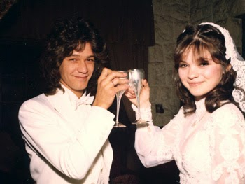 Chatter busy eddie van halen dating for Who is valerie bertinelli married to