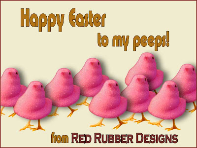 Happy Easter from Red Rubber Designs!