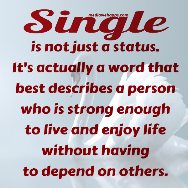 Being Single  Im So Lonely...