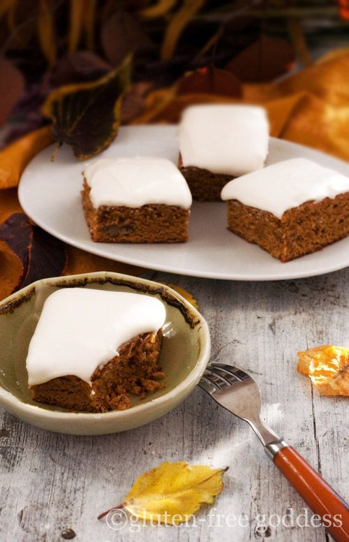 Gluten-Free Goddess Pumpkin Bars