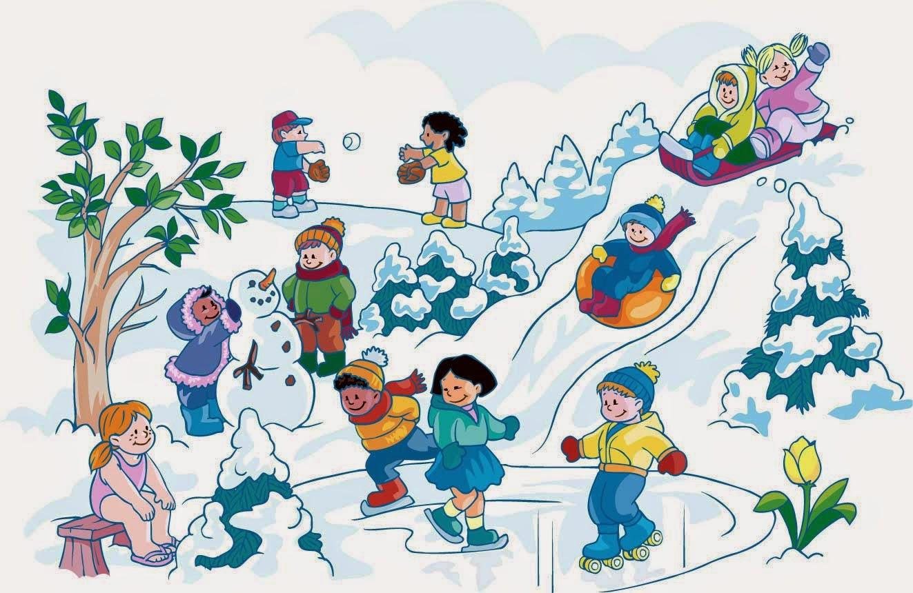 zima deti
