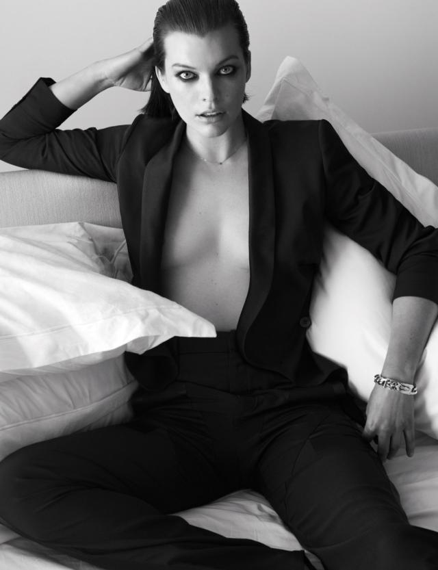 Milla Jovovich en W Magazine marzo 2014