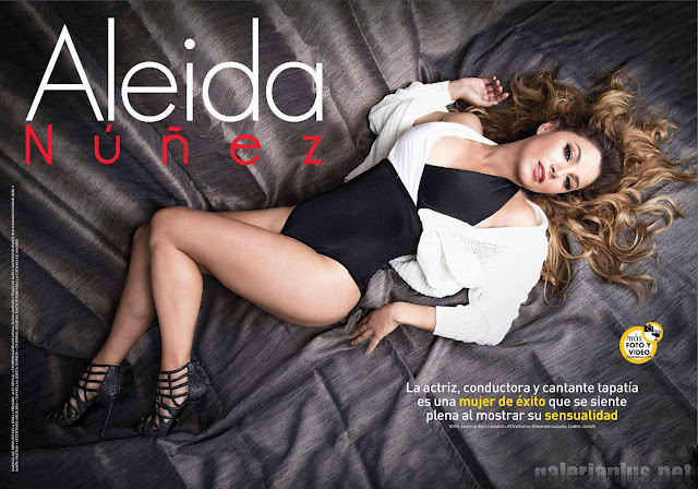 Aleida Núñez TvyNovelas Superclick - Septiembre 2015