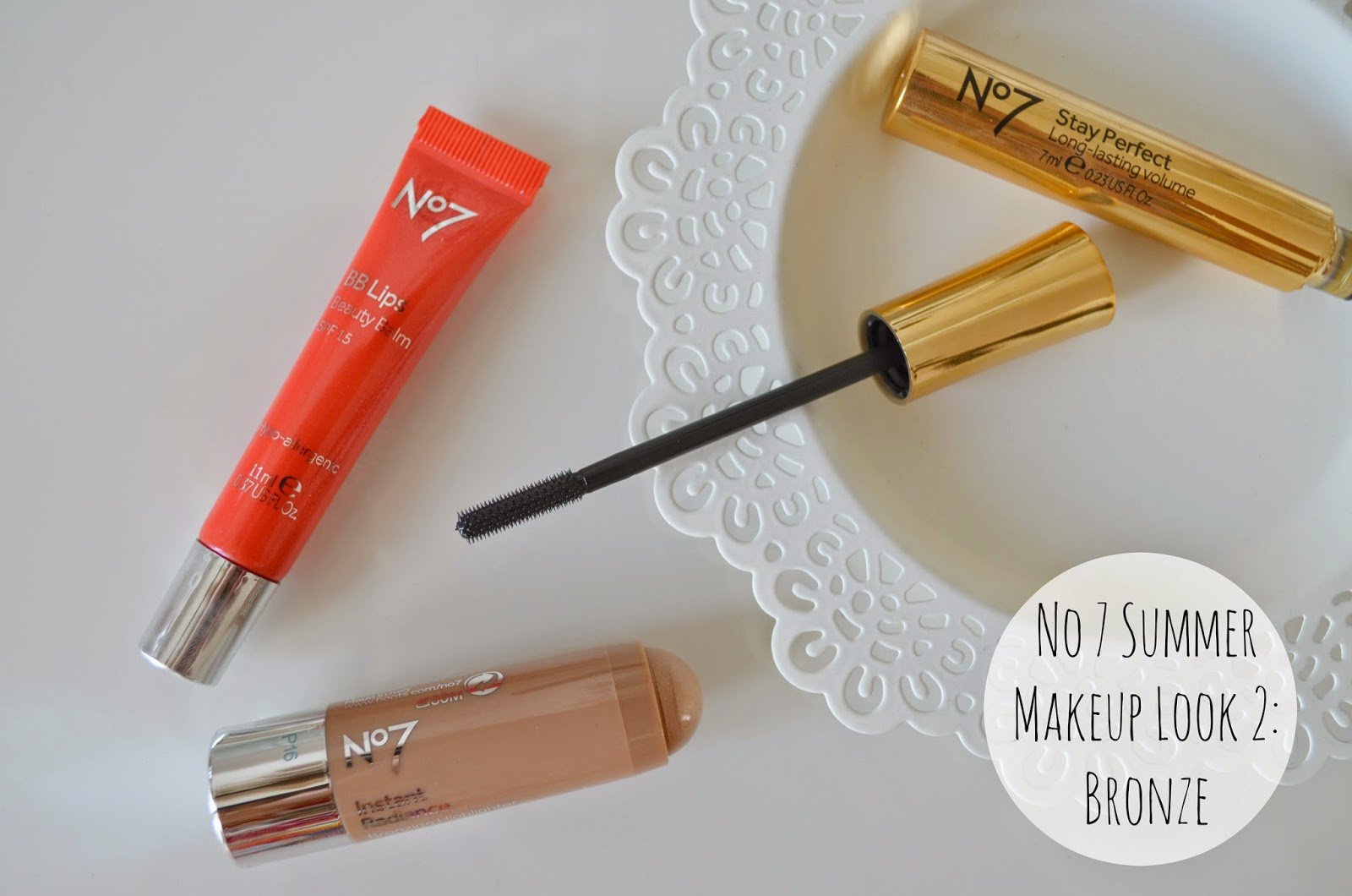 No 7 Summer Makeup: Look 2 The Bronze Collection