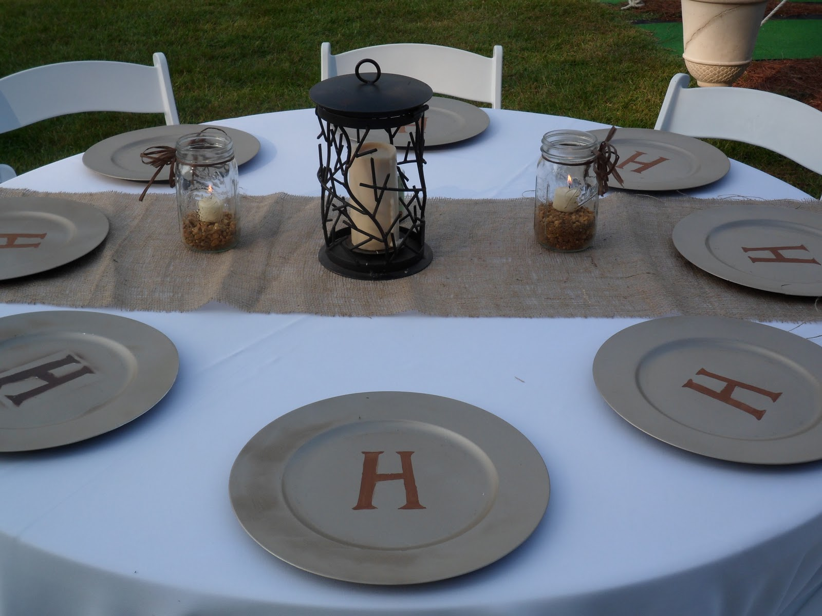 The Inspired Collection: Burlap and Organic Theme Wedding
