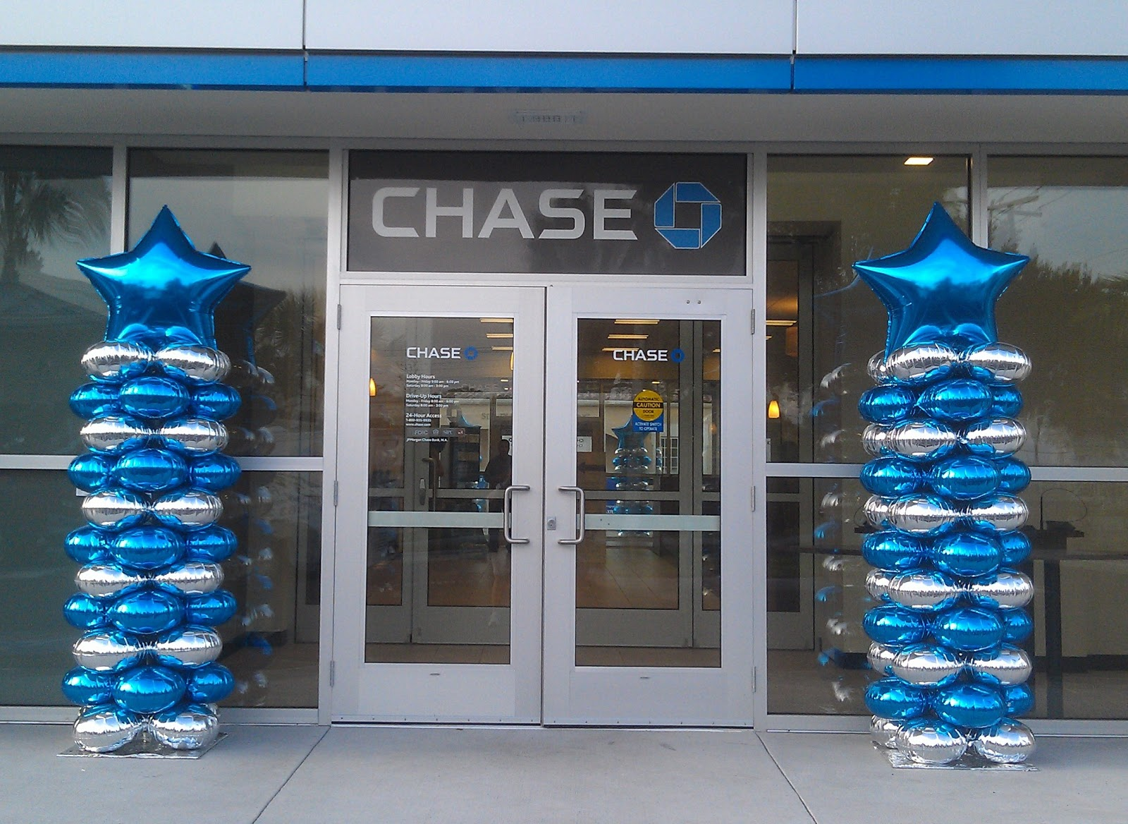 Party people event decorating company chase bank tampa