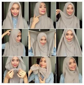 Kumpulan Tutorial Cara Memakai Tutorial Hijab Modern Dan Modis