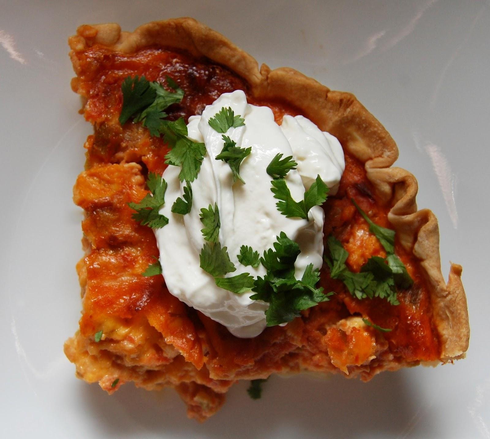 Cassie Craves: Mexican Chicken Quiche