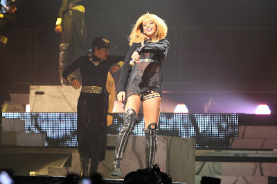 Rihanna performs 'Diamonds World Tour' in Antwerpen