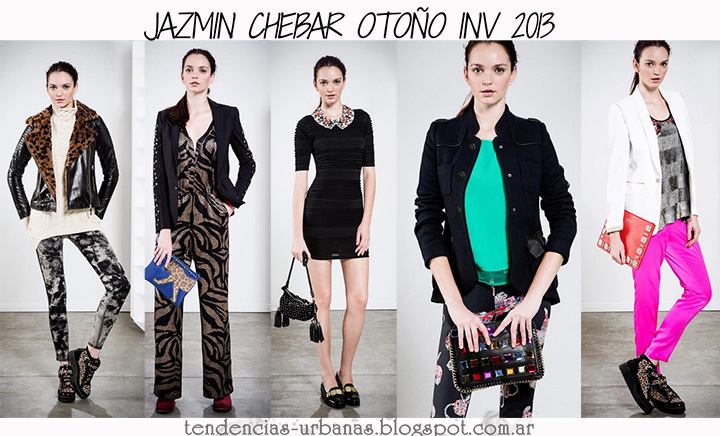 Jazmin Chebar invierno 2013 lookbook