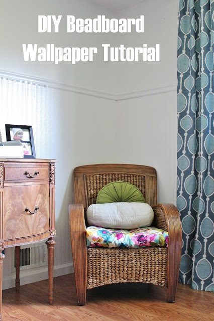 how to install beadboard wallpaper