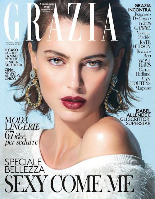 Actress @ Catrinel Marlon - Grazia Italia, November 2015