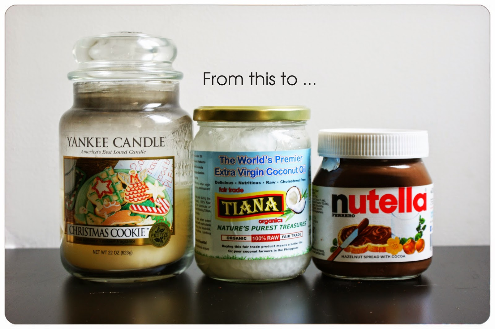 Diy ways of recycling old food candle jars the desi for Uses for old glass bottles