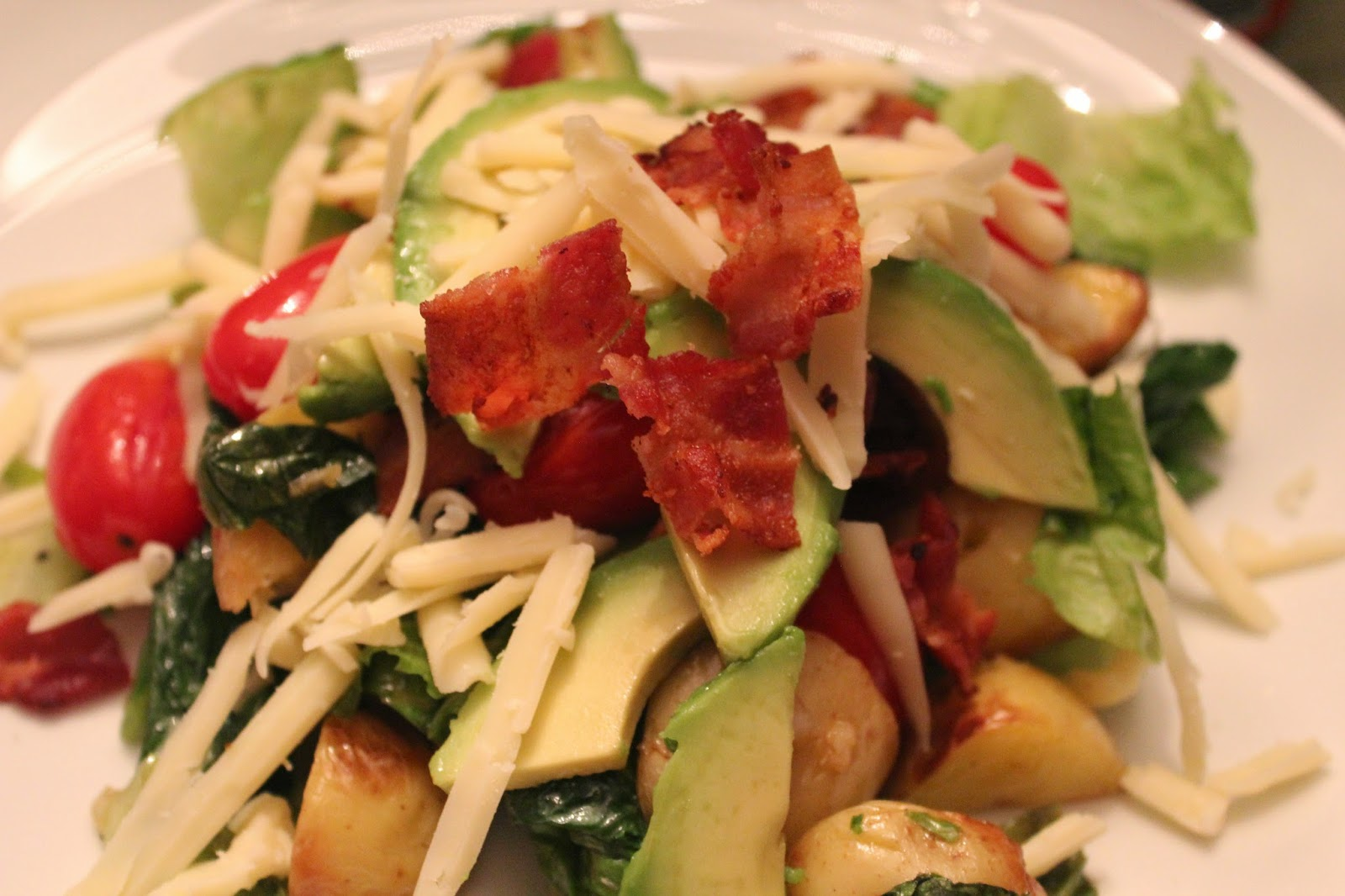 Delicious Dishings: Grilled Potato Salad, BLT Style