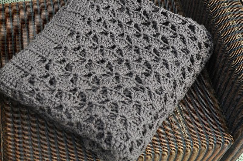 Mereknits Chocolate Blanket
