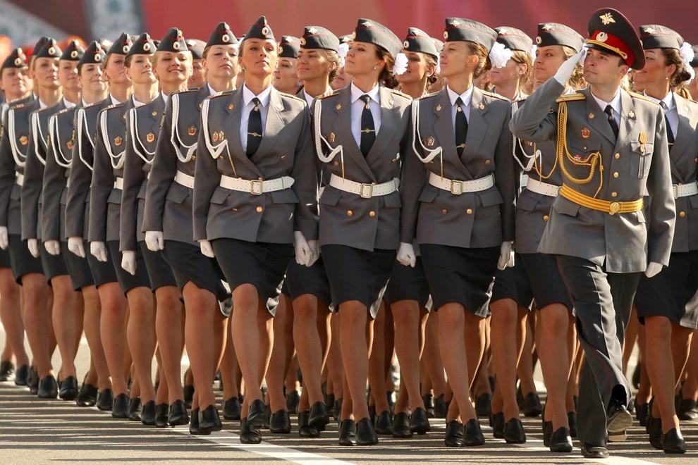 Cadetes de la policia rusa