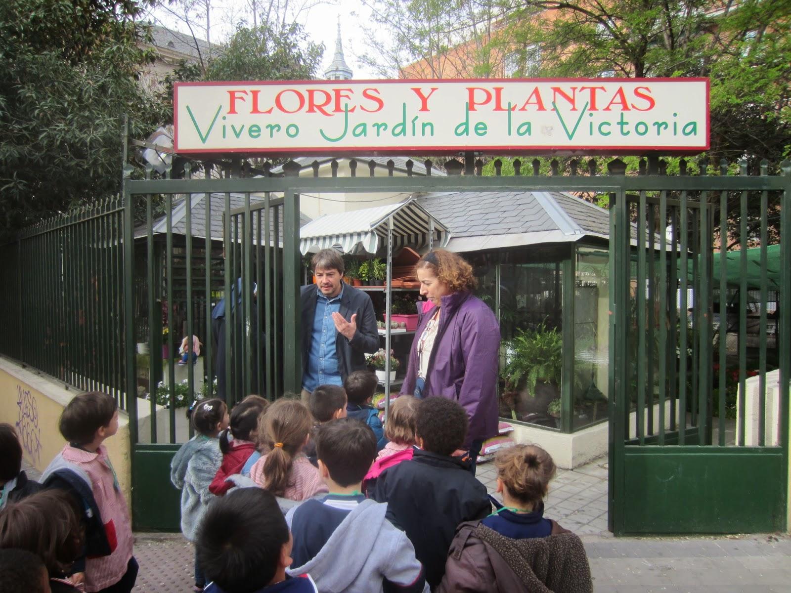 Nuestro huerto escolar visita al vivero jardin de la victoria for Vivero el jardin